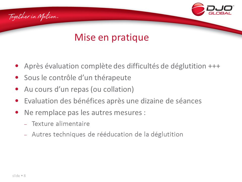 Pr sentation du dispositif vitalstim ppt video online - Controle technique pace ...