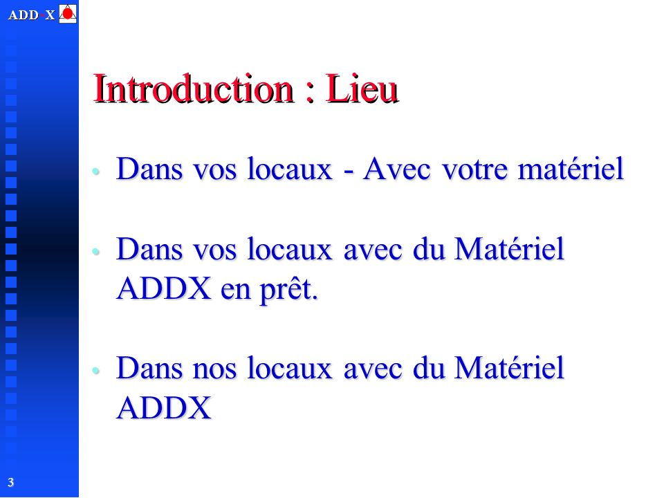 Formation systemes pc niv 2 ppt t l charger for Dans vos locaux