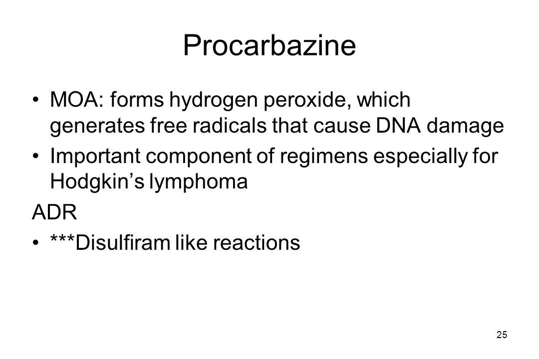 disulfiram like reaction