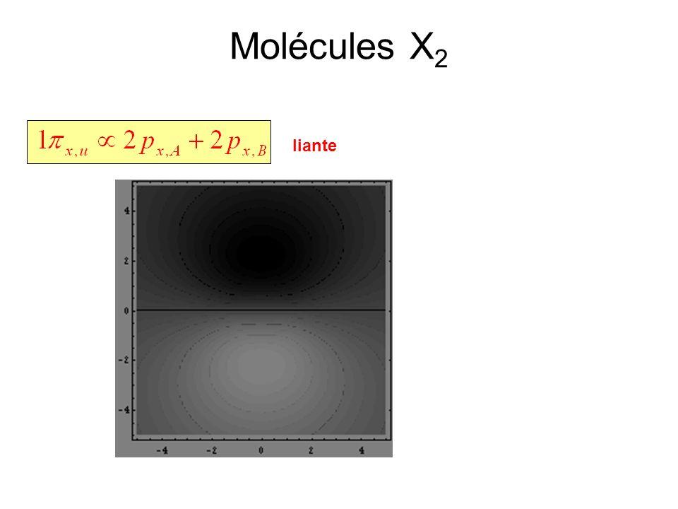 Molécules X2 liante