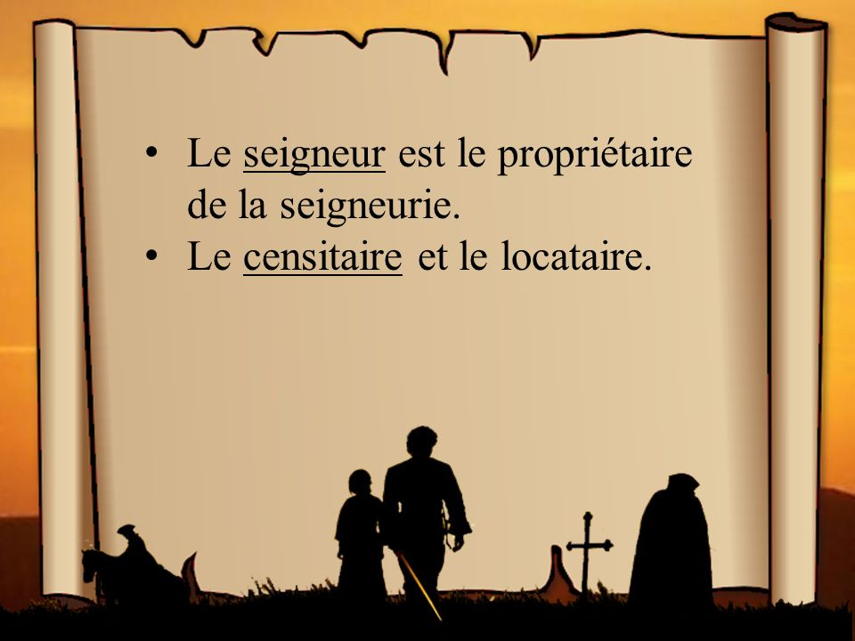 La vie en Nouvelle-France