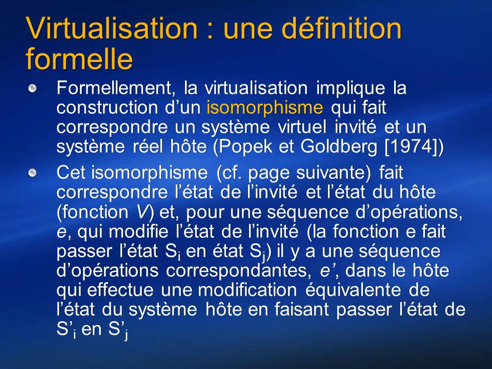 Grid virtualisation et hpc ppt tlcharger virtualisation une dfinition formelle stopboris Images