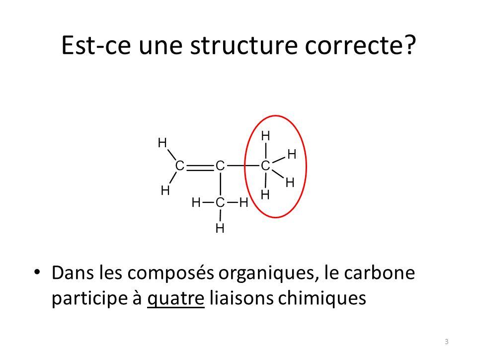Est-ce une structure correcte