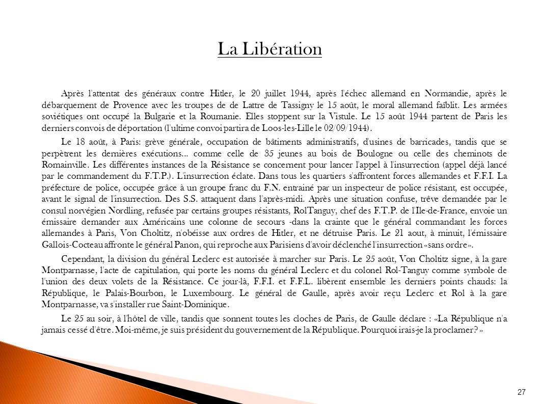 La r sistance en france par les autorit s d 39 occupation ppt t l charger - Prefecture de police porte de clignancourt ...