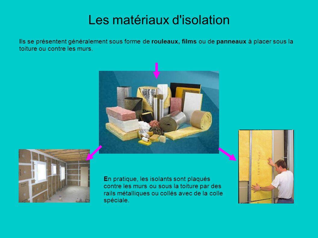 les mat riaux d 39 isolation ppt video online t l charger. Black Bedroom Furniture Sets. Home Design Ideas