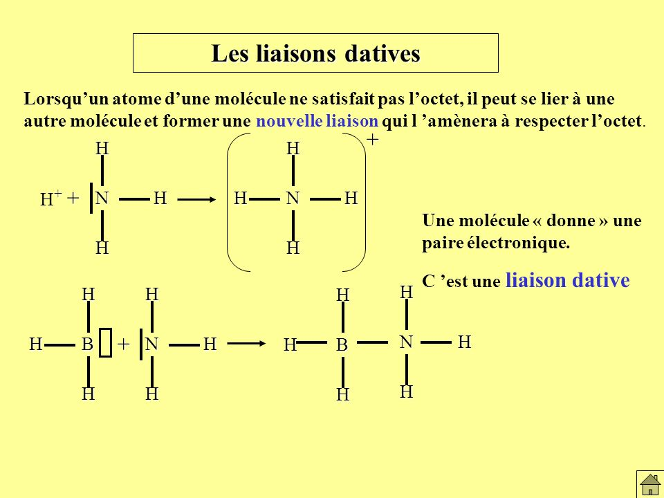 Les liaisons datives + +