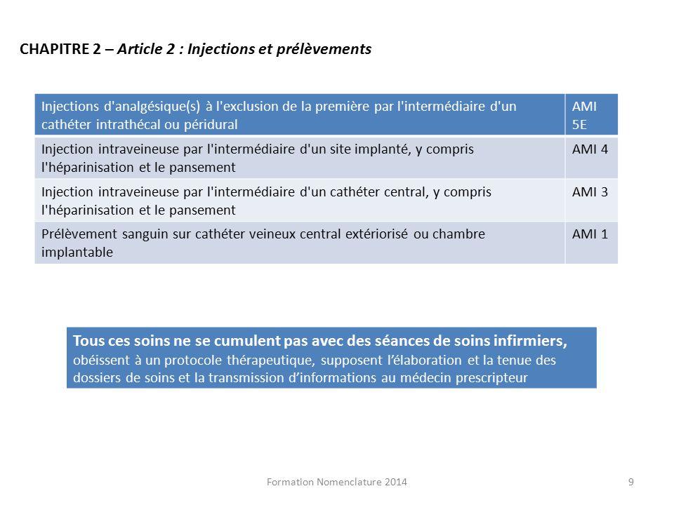 G rant et infirmier conseil formateur nomenclature ppt - Prelevement sanguin sur chambre implantable ...