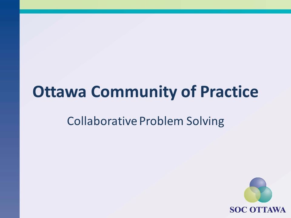 Ottawa Community of Practice