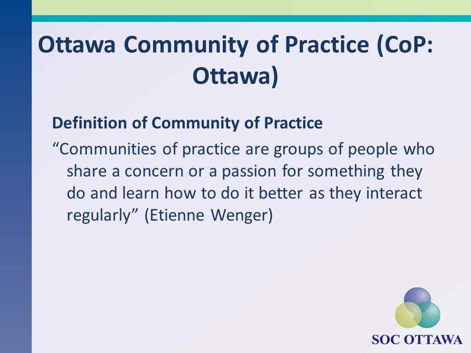 Ottawa Community of Practice (CoP: Ottawa)