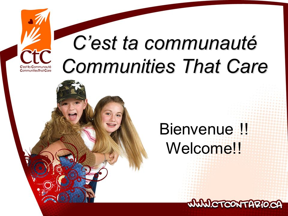 C'est ta communauté Communities That Care