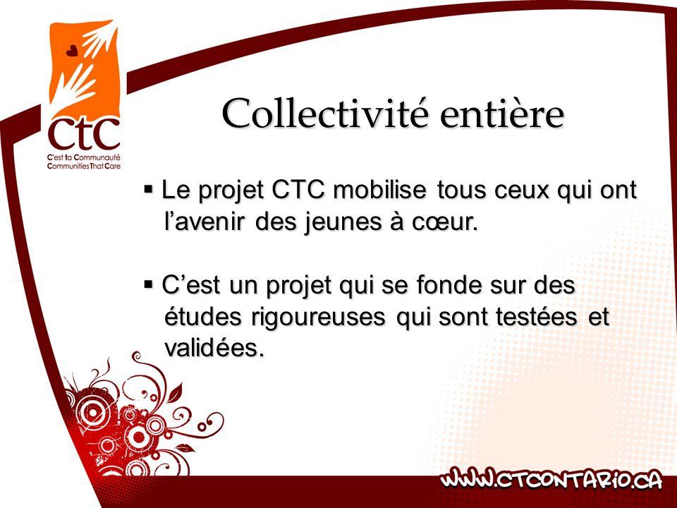 Collectivité entière Le projet CTC mobilise tous ceux qui ont