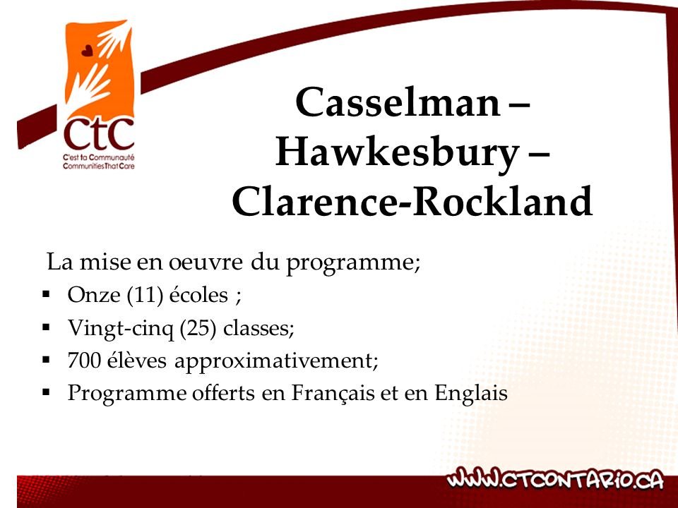 Casselman – Hawkesbury – Clarence-Rockland