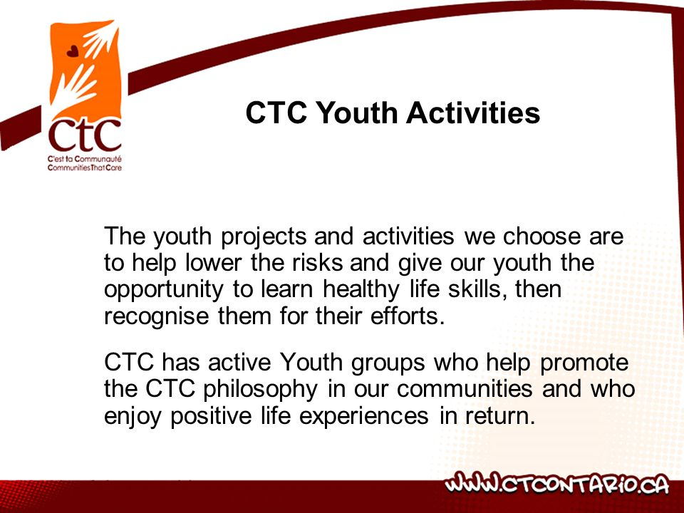CTC Youth Activities