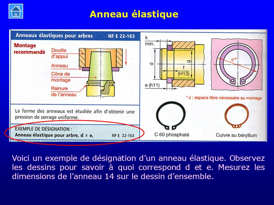 Anneau élastique