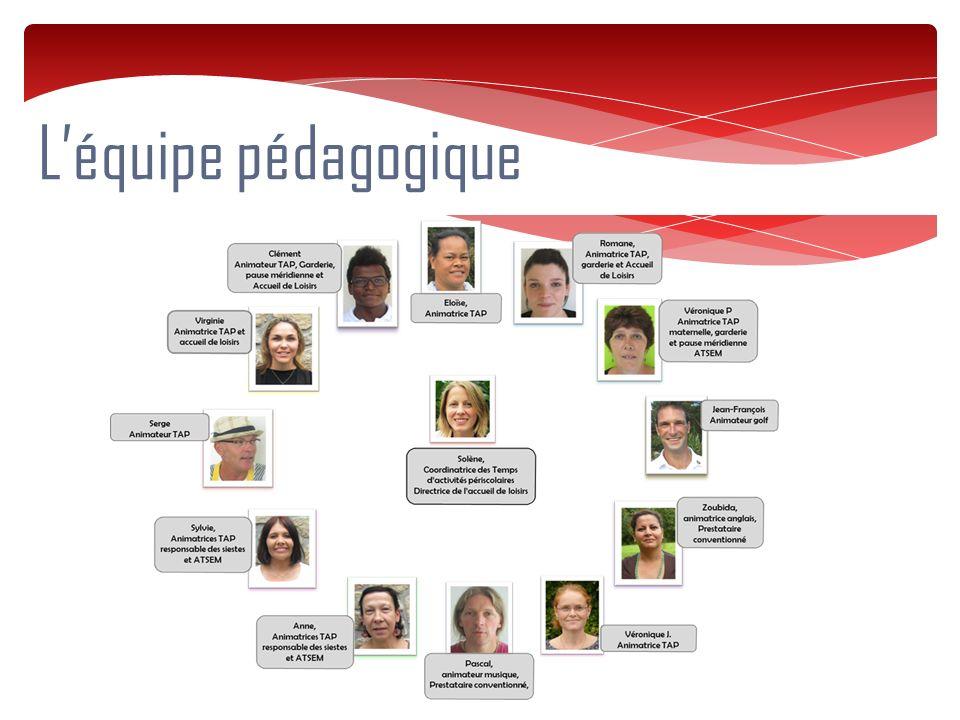 L'équipe pédagogique 6