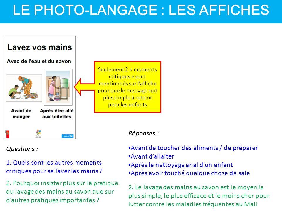 LE PHOTO-LANGAGE : LES AFFICHES