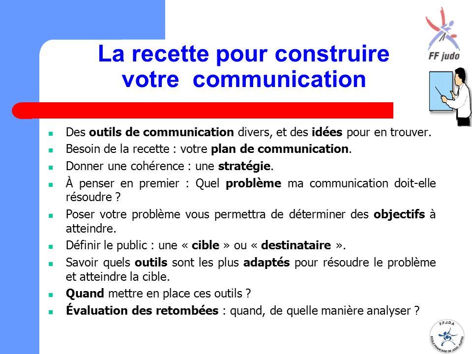 La recette pour construire votre communication