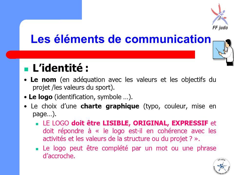 Les éléments de communication