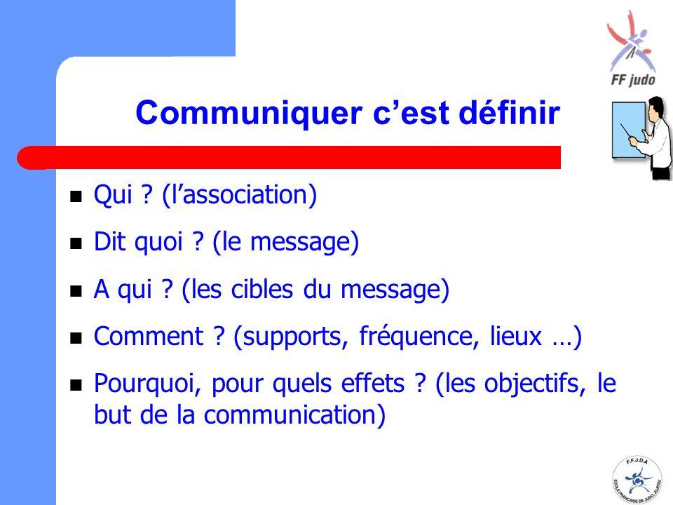 Communiquer c'est définir