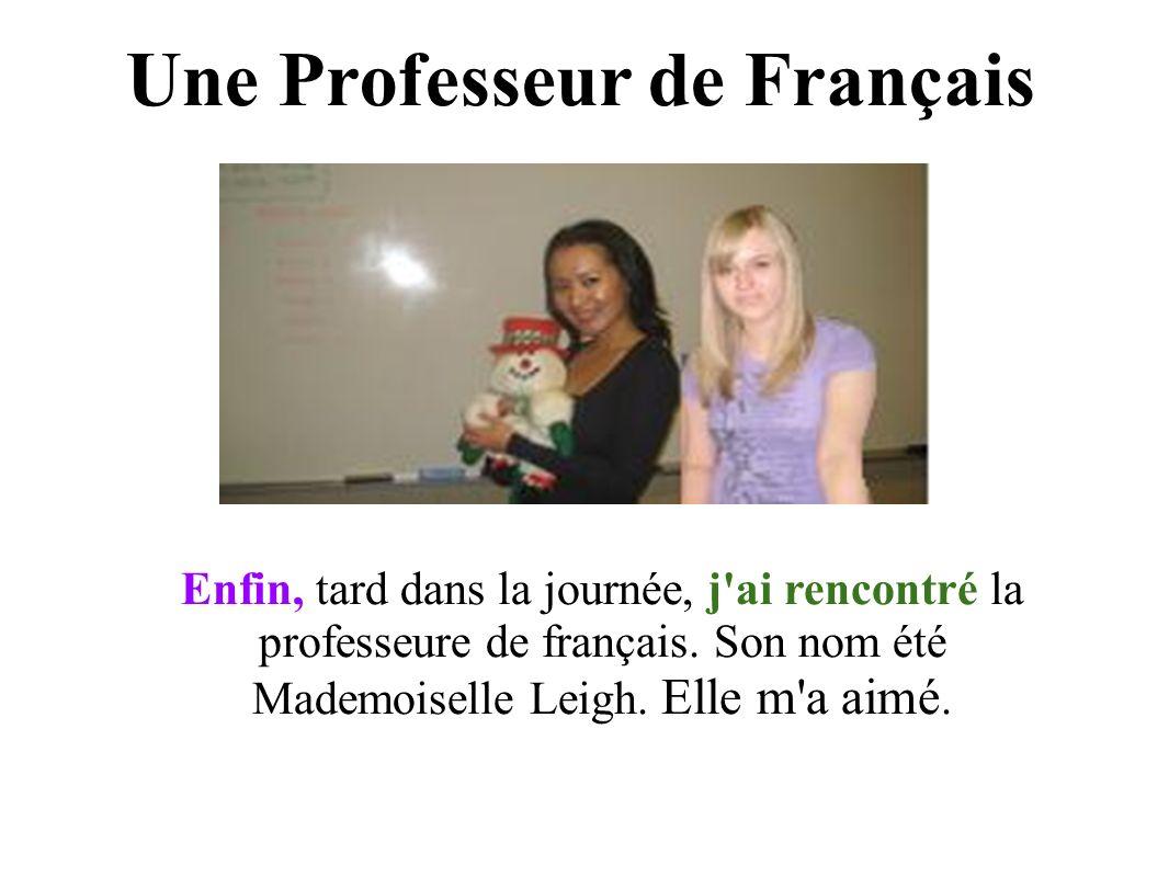 Une Professeur de Français