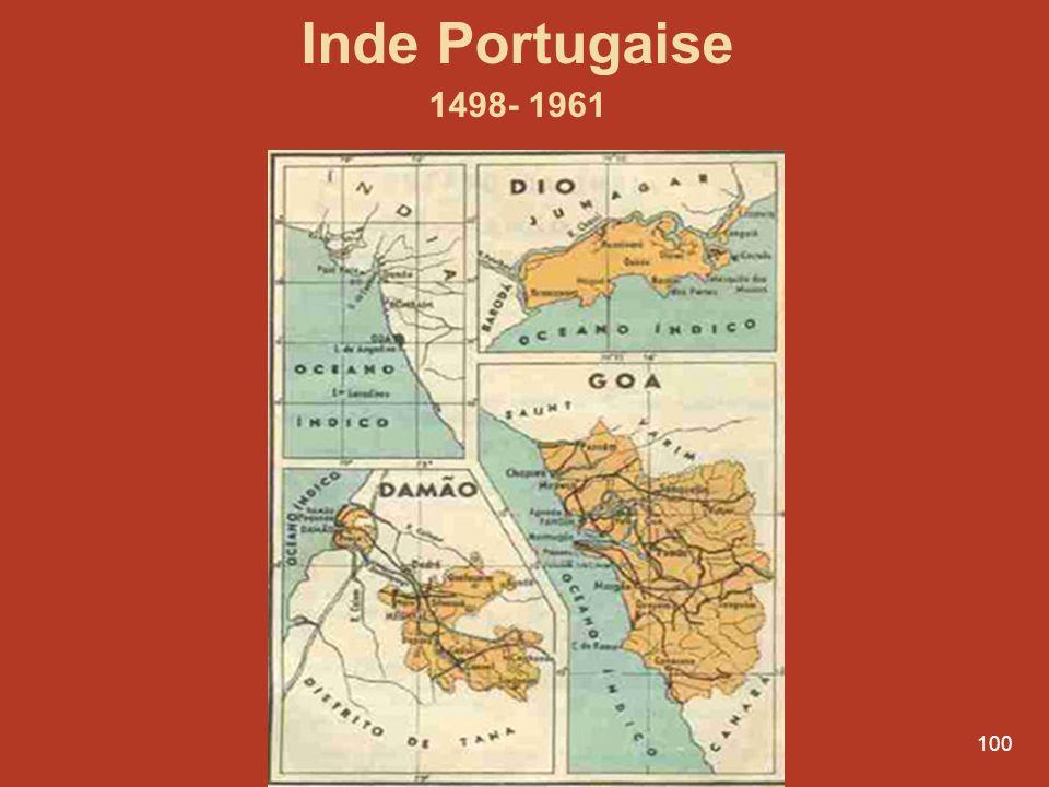 Inde Portugaise 1498- 1961