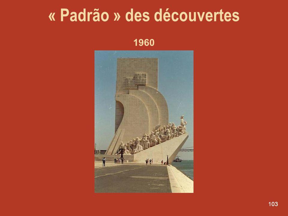 « Padrão » des découvertes 1960