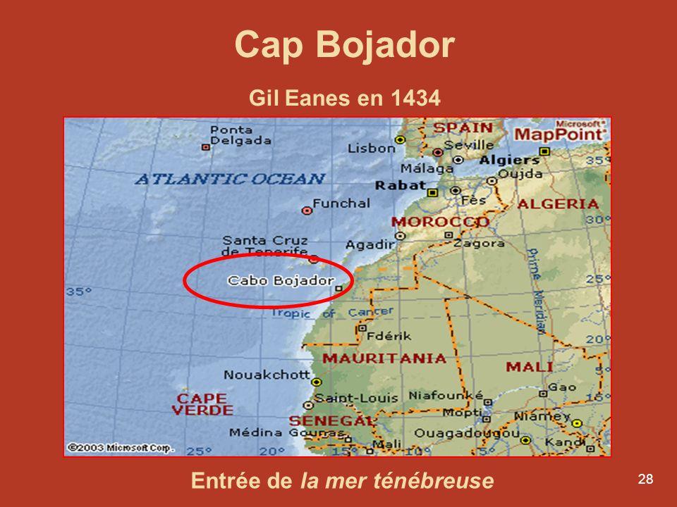 Cap Bojador Gil Eanes en 1434