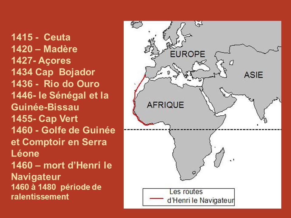 1446- le Sénégal et la Guinée-Bissau 1455- Cap Vert
