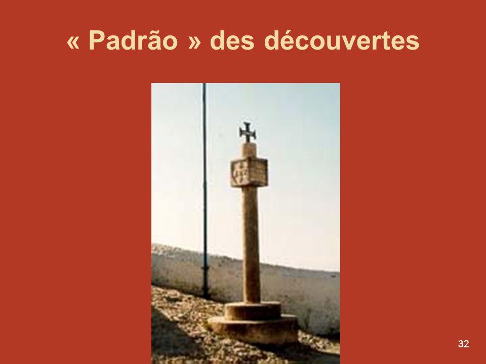 « Padrão » des découvertes