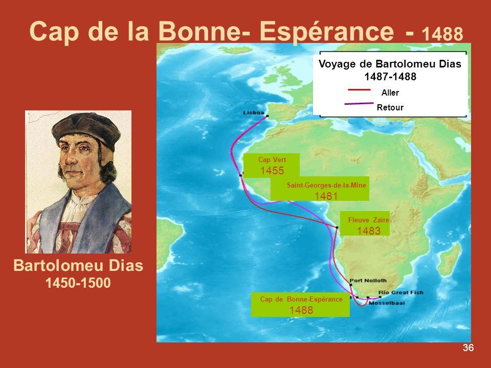 Cap de la Bonne- Espérance - 1488