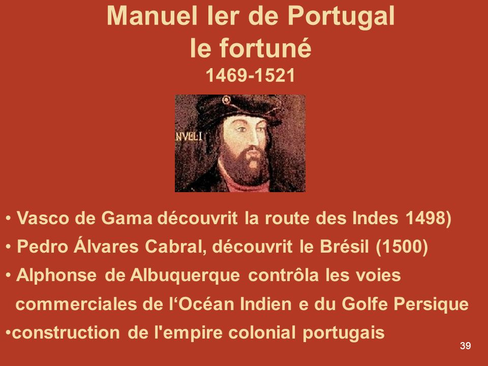 Manuel Ier de Portugal le fortuné