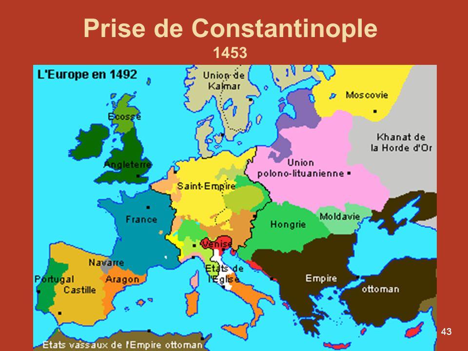 Prise de Constantinople 1453