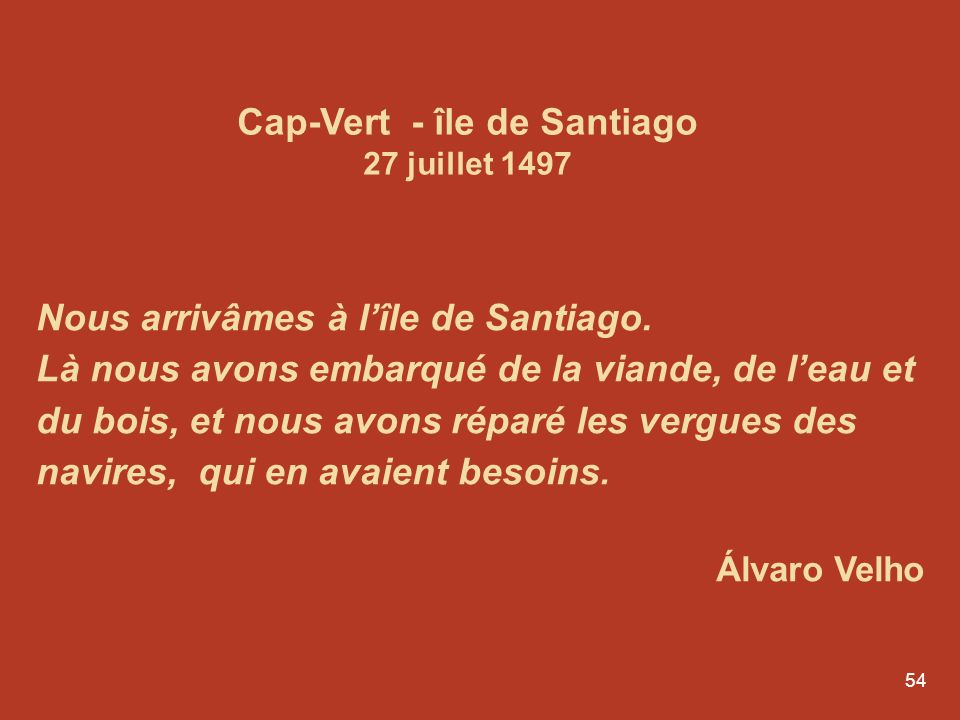 Cap-Vert - île de Santiago