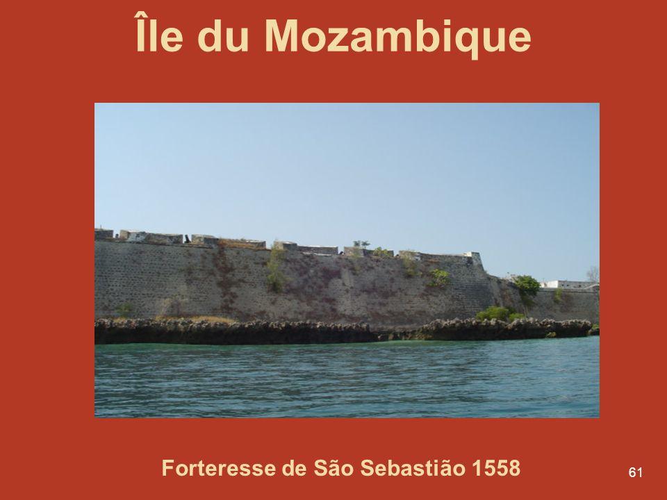 Forteresse de São Sebastião 1558