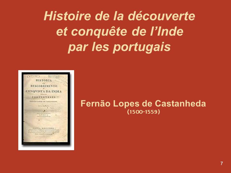Histoire de la découverte et conquête de l'Inde