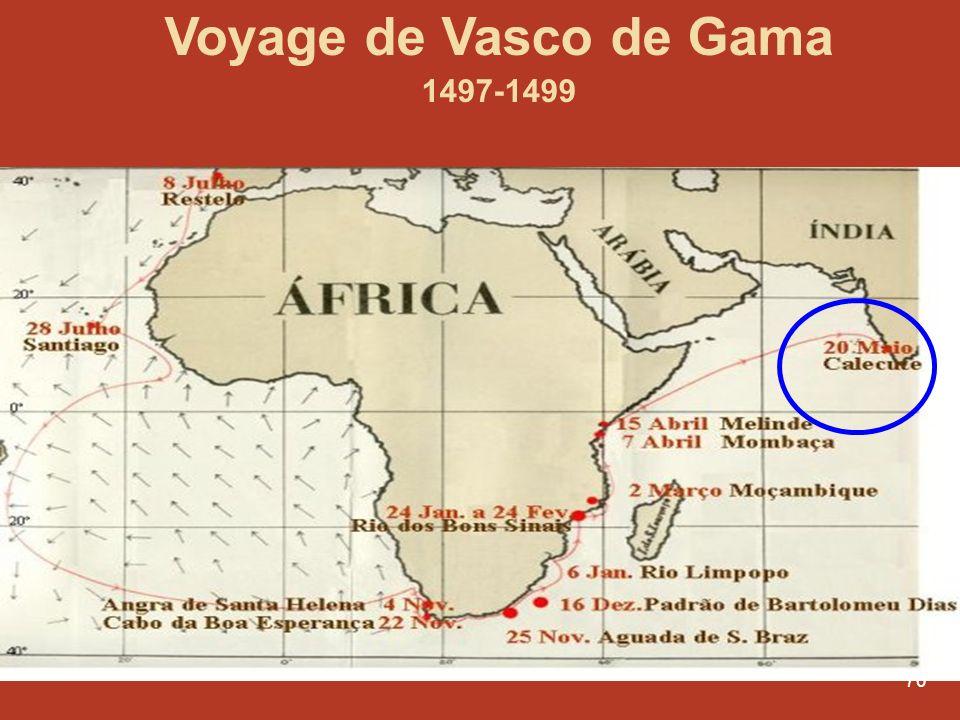 Voyage de Vasco de Gama 1497-1499