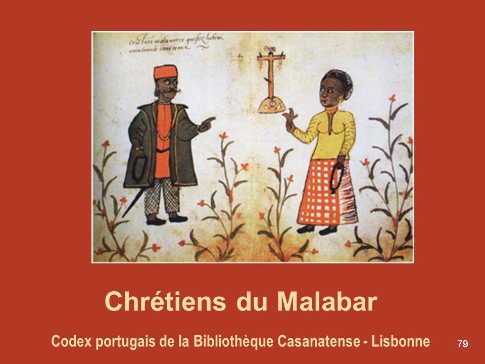 Chrétiens du Malabar Codex portugais de la Bibliothèque Casanatense - Lisbonne