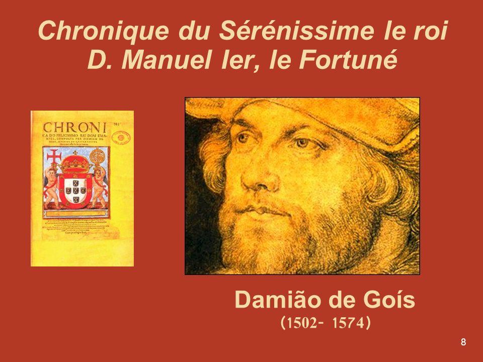 Chronique du Sérénissime le roi D. Manuel Ier, le Fortuné