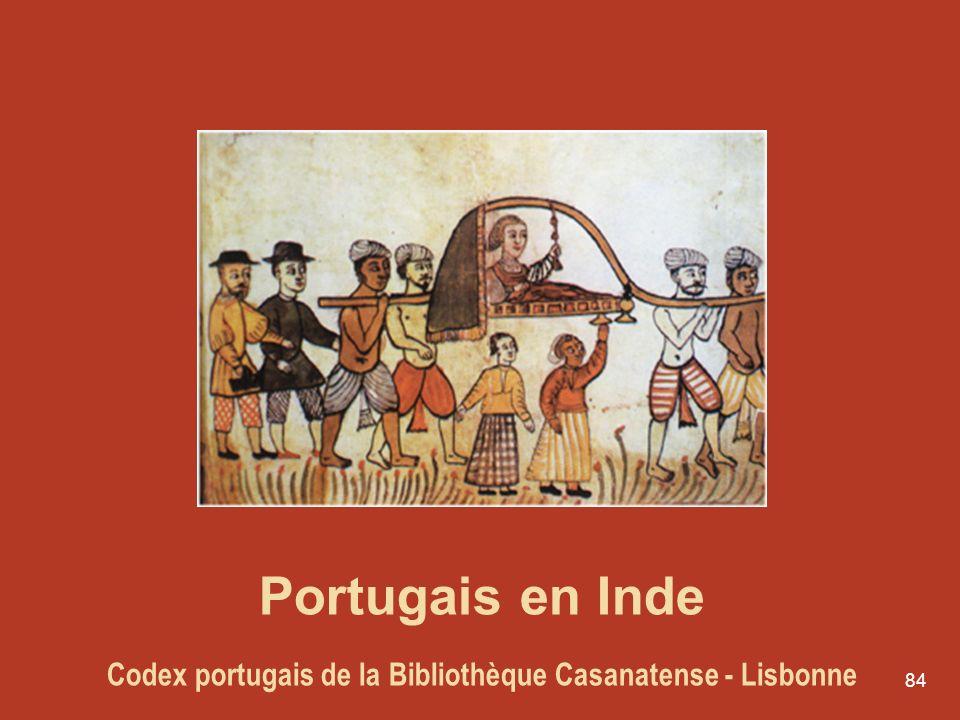 Portugais en Inde Codex portugais de la Bibliothèque Casanatense - Lisbonne