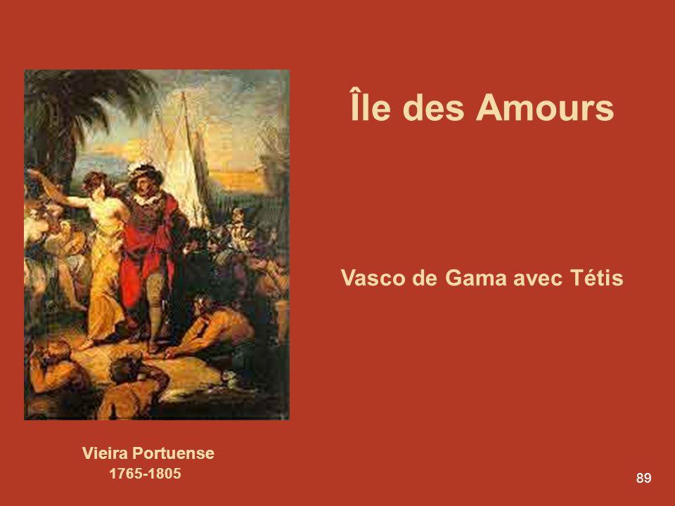 Vasco de Gama avec Tétis