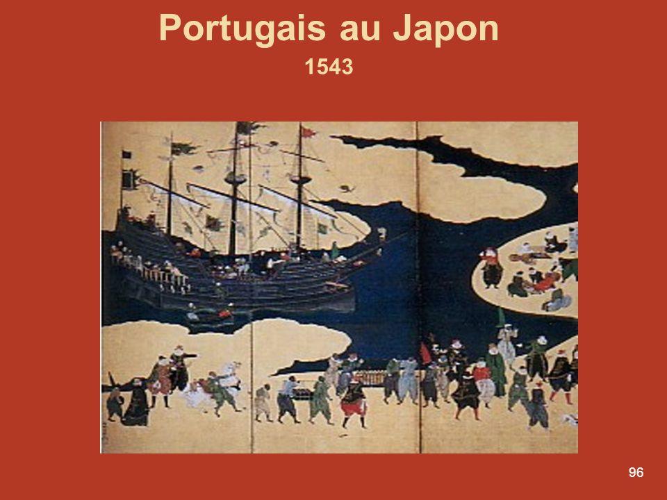 Portugais au Japon 1543