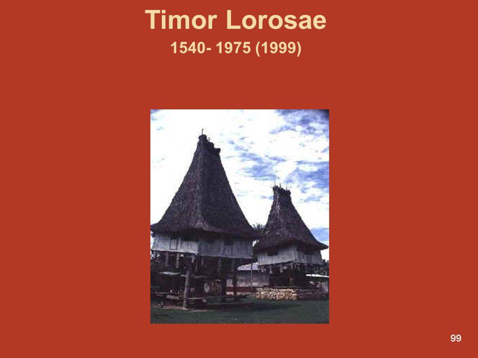 Timor Lorosae 1540- 1975 (1999)