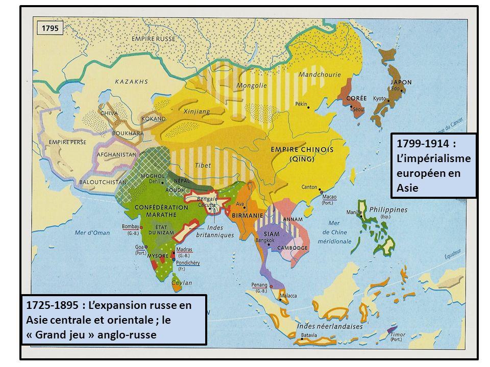 1799-1914 : L'impérialisme européen en Asie