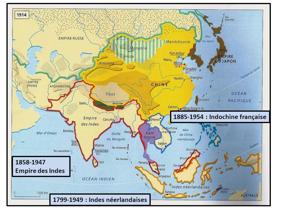 1885-1954 : Indochine française