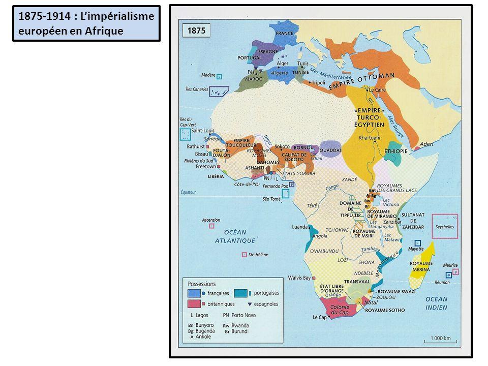 1875-1914 : L'impérialisme européen en Afrique