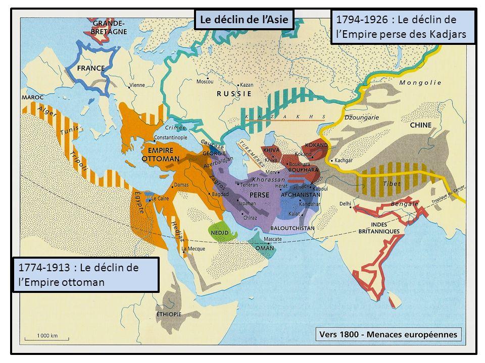 Le déclin de l'Asie 1794-1926 : Le déclin de l'Empire perse des Kadjars.