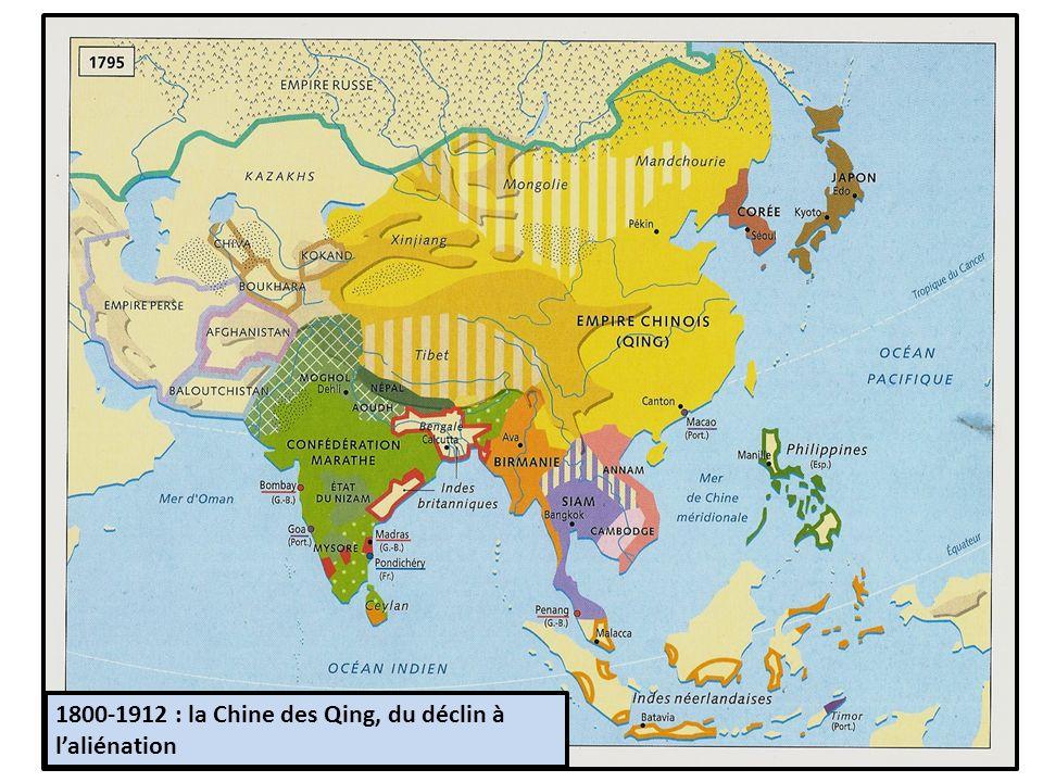 1800-1912 : la Chine des Qing, du déclin à l'aliénation