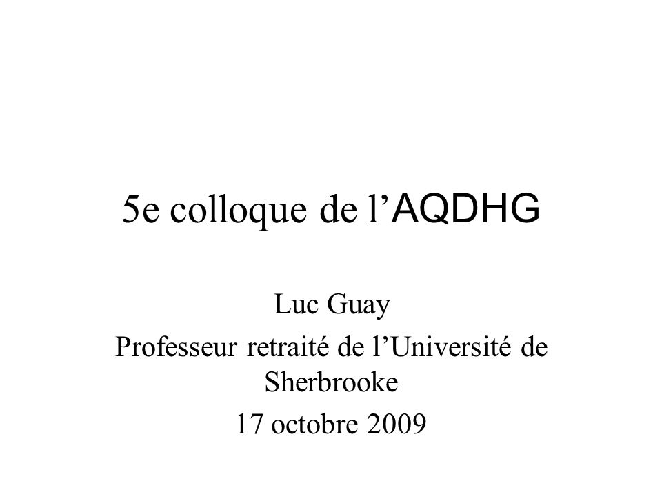 Professeur retrait de l universit de sherbrooke ppt - Grille indiciaire professeur des universites ...