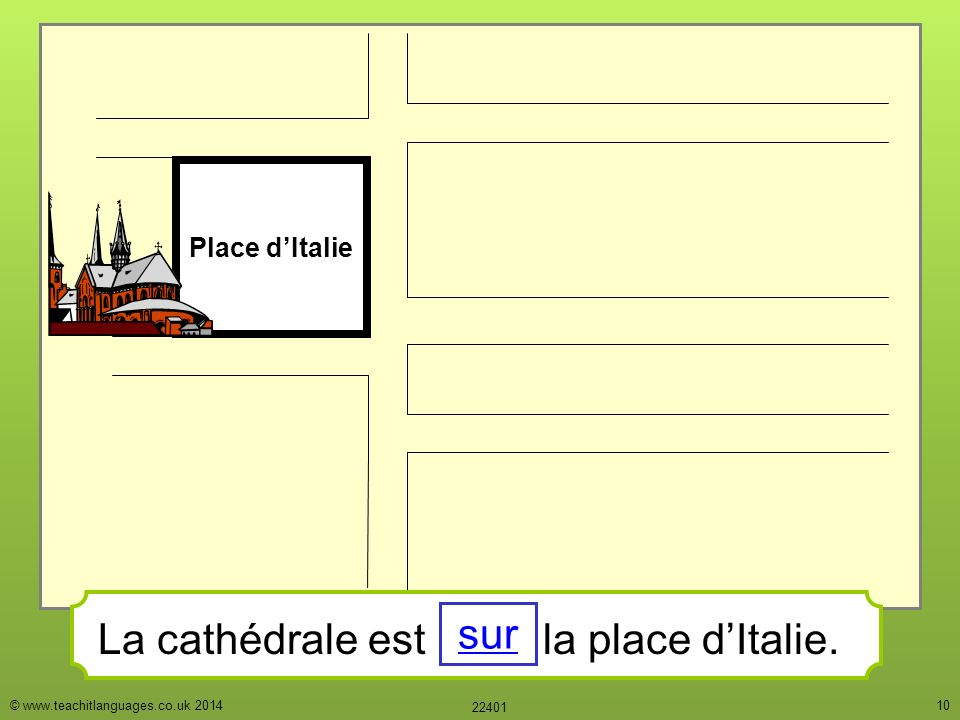 Les directions o est ppt t l charger - Piscine place d italie ...