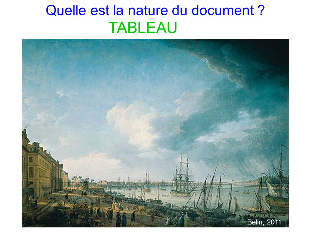 Quelle est la nature du document
